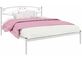 Кровать Каролина белая