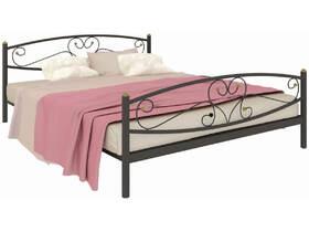 Кровать Каролина Plus чёрная