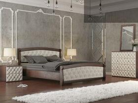 Кровать Магнат с мягкими спинками