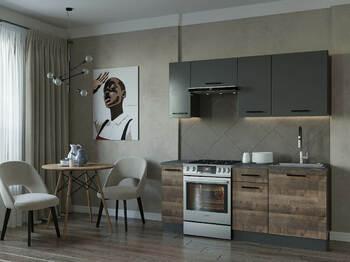 Кухонный гарнитур Гранж-1800