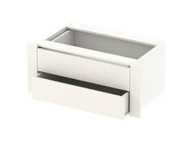Модуль с ящиками для шкафа-купе белый