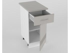 Нижний шкаф Н 400 1 ящик 1 дверь 850х400х600 Волна