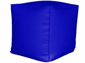 Пуфик Куб мини нейлон синий