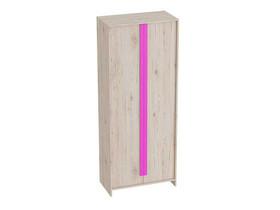 Шкаф 2-дверный Скаут 800х420х1990 Матовый фуксия