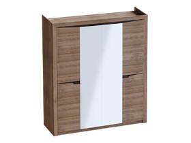 Шкаф 4 дверный Соренто 1965х545х2200 Дуб стирлинг