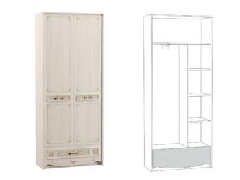 Шкаф комбинированный Флоренция 13.04